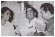 Madan Mohan creating Music