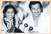 Madan Mohan with various Personalities